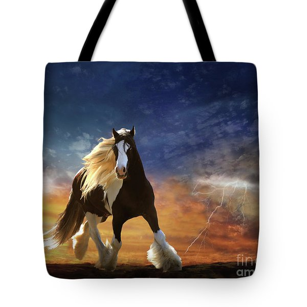 A Gypsy Storm Tote Bag