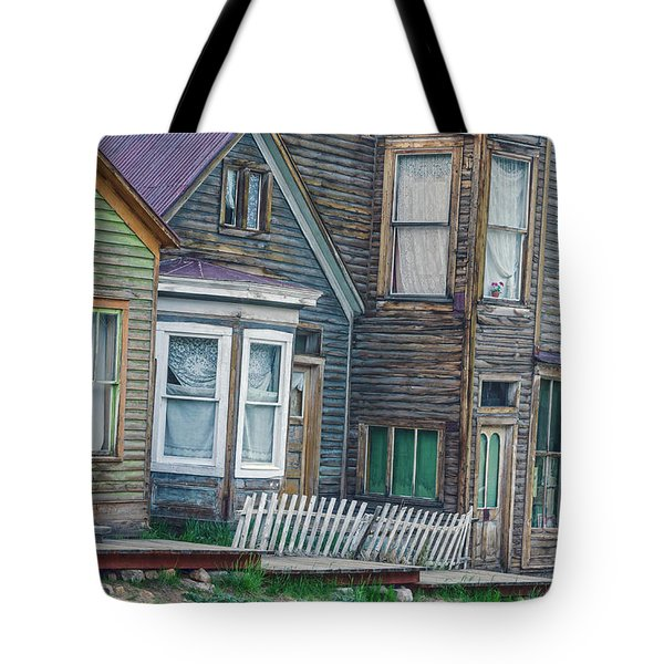 A Haimish Abode From A Bygone Era Tote Bag by Bijan Pirnia