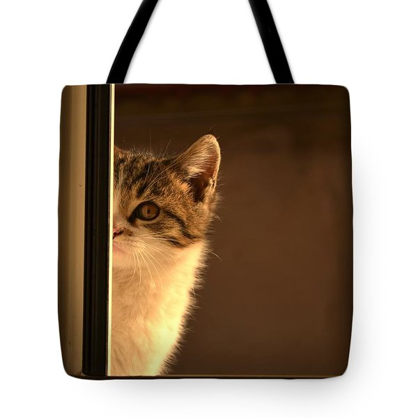 A Half-portrait Tote Bag