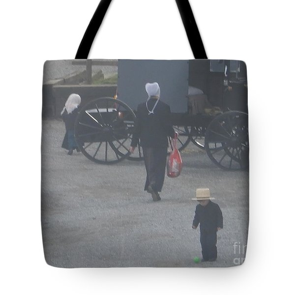 A Handful For Mom Tote Bag