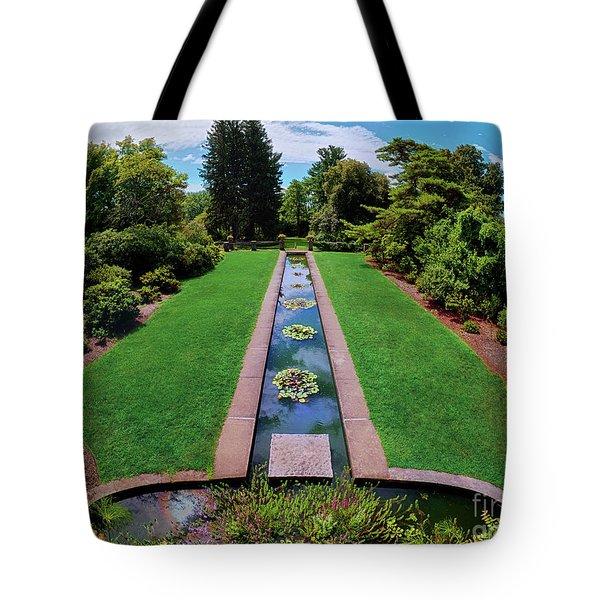 A Happy Garden Tote Bag by Mark Miller