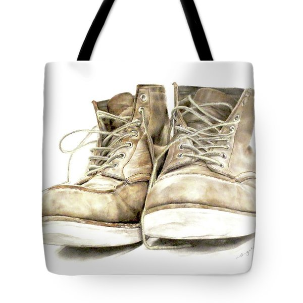 A Hard Day's Work Tote Bag