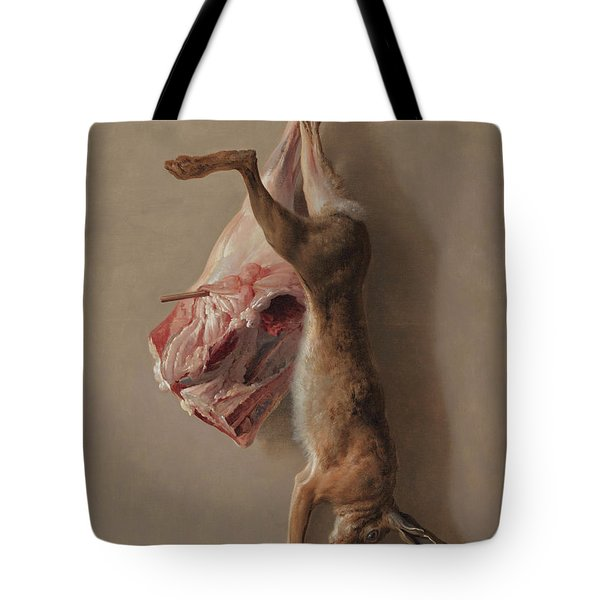 A Hare And A Leg Of Lamb Tote Bag