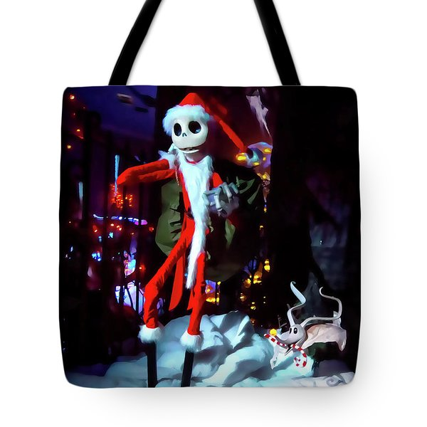 A Haunted Christmas Tote Bag