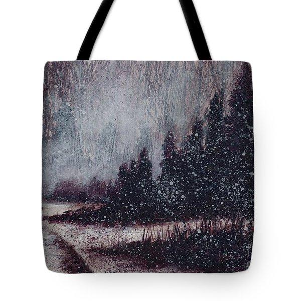 A Hazy Shade Of Winter  Tote Bag