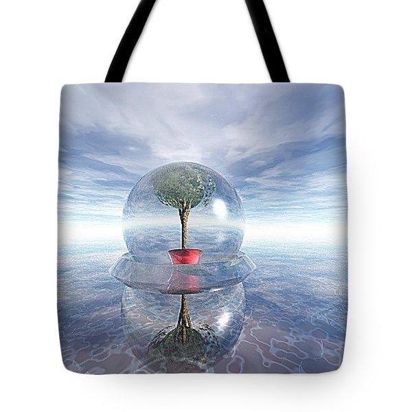 A Healing Environment Tote Bag by Oscar Basurto Carbonell