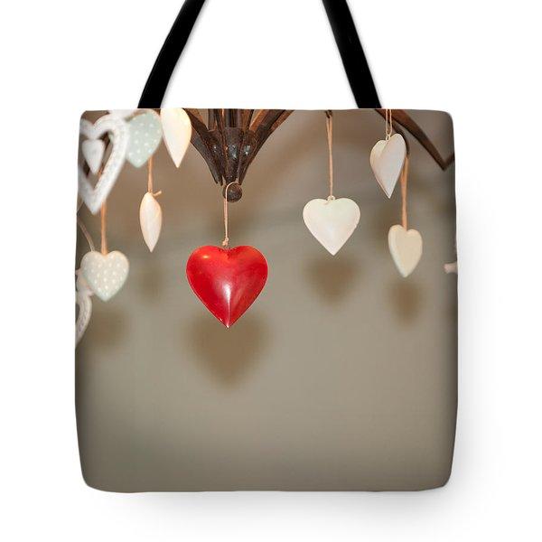 A Heart Among Hearts I Tote Bag
