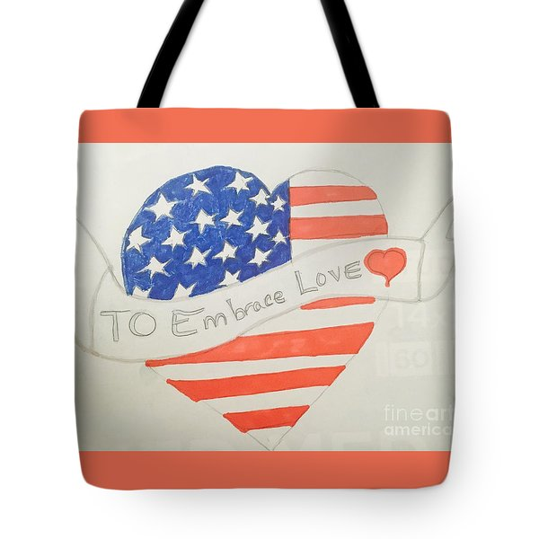 A Heart Of Love  Tote Bag