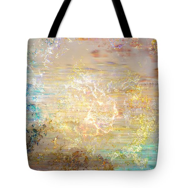 A Heart So Big - Custom Version 4 - Abstract Art Tote Bag by Jaison Cianelli
