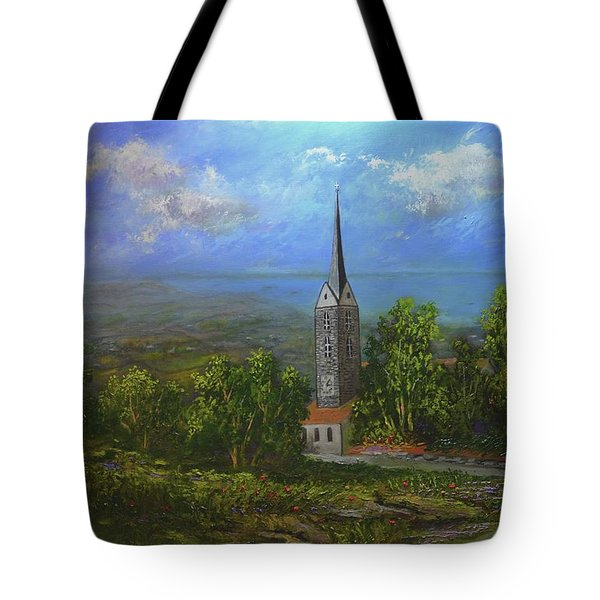 A Higher Place Tote Bag