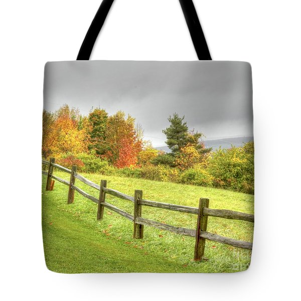 A Highland Forest Autumn Tote Bag