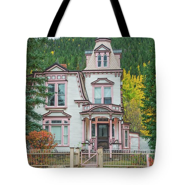 A Historical Treasure Constructed In 1870, Maxwell House, Georgetown, Colorado  Tote Bag
