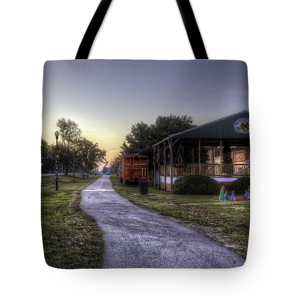 A Hometown Christmas Tote Bag