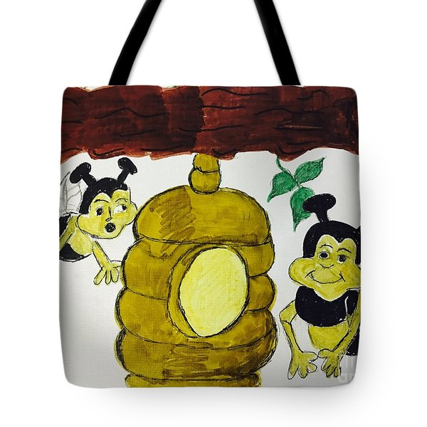 A Honey And The Bees Tote Bag
