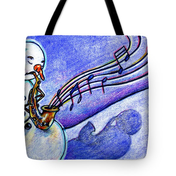 A Horn For Playing Tote Bag