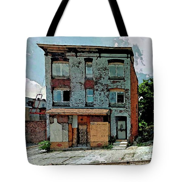A House On Bloom Street Tote Bag