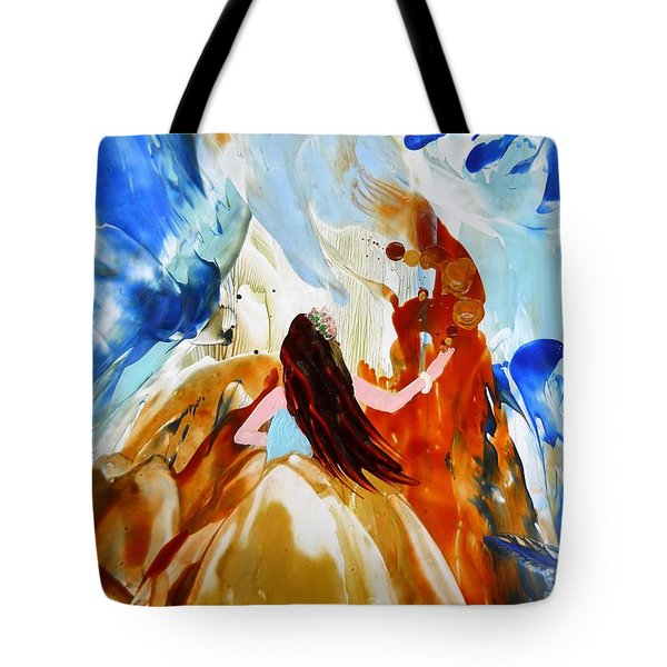 A Hula For You Tote Bag by Marionette Taboniar