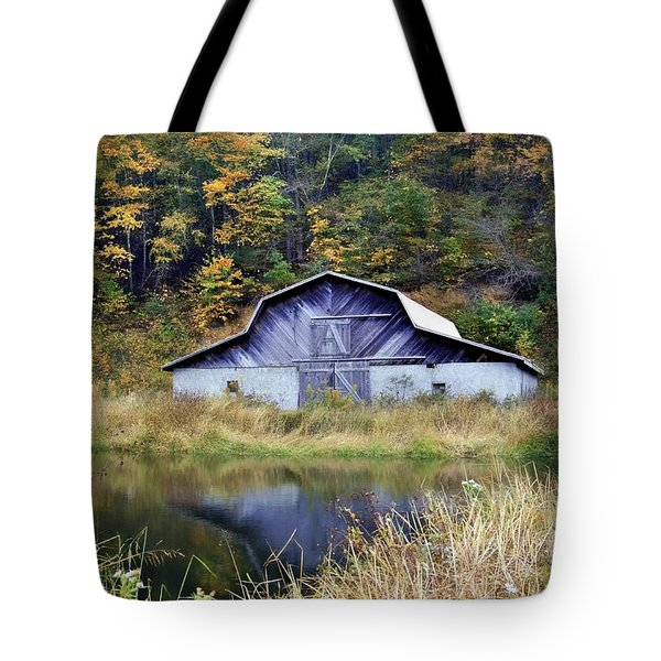 A Is For Autumn Tote Bag by Benanne Stiens