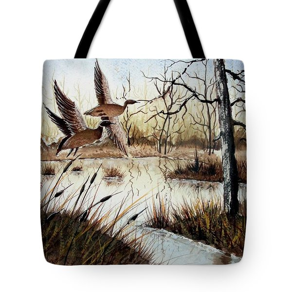 A 'jerry Yarnell' Study Tote Bag by Jimmy Smith