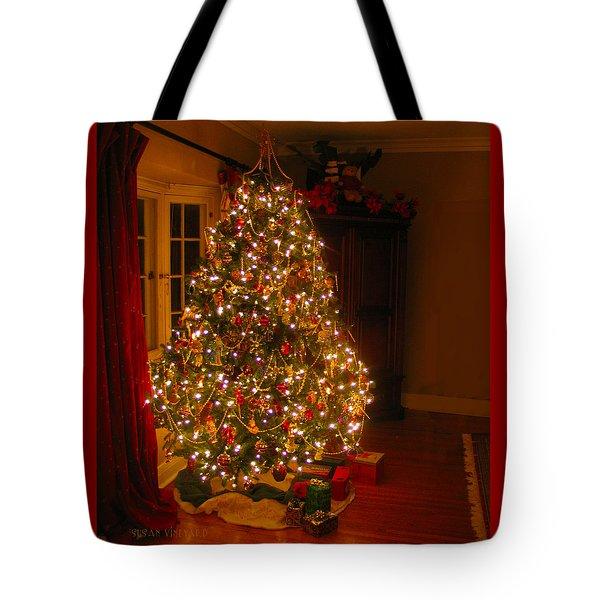 A Jewel Of A Christmas Tree Tote Bag