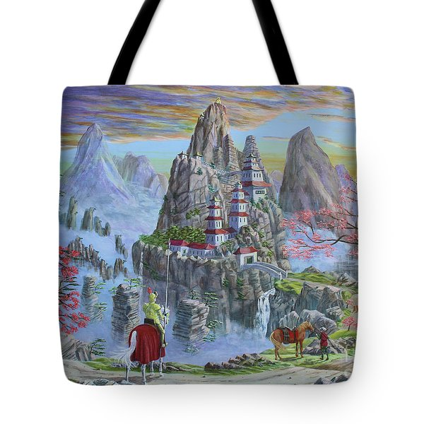 A Journey's End Tote Bag by Anthony Lyon