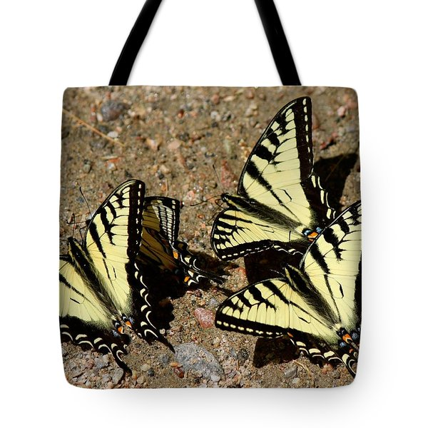 A Kaleidoscope Of Swallowtails Tote Bag