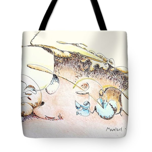 A Kiss For Baby Tote Bag
