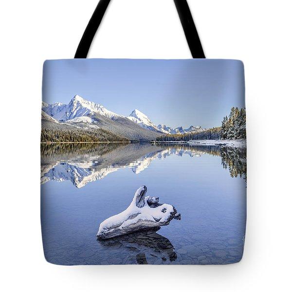 A Kiss Of Winter Tote Bag