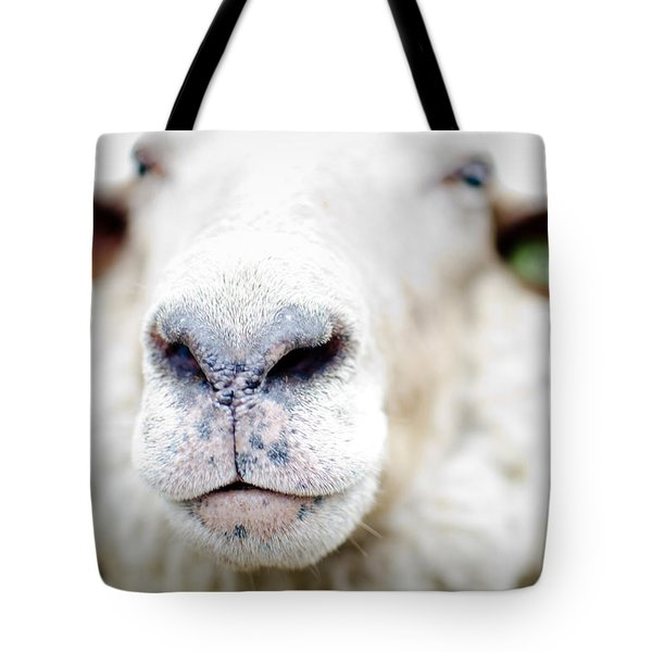 A Kiss Tote Bag by Swift Family