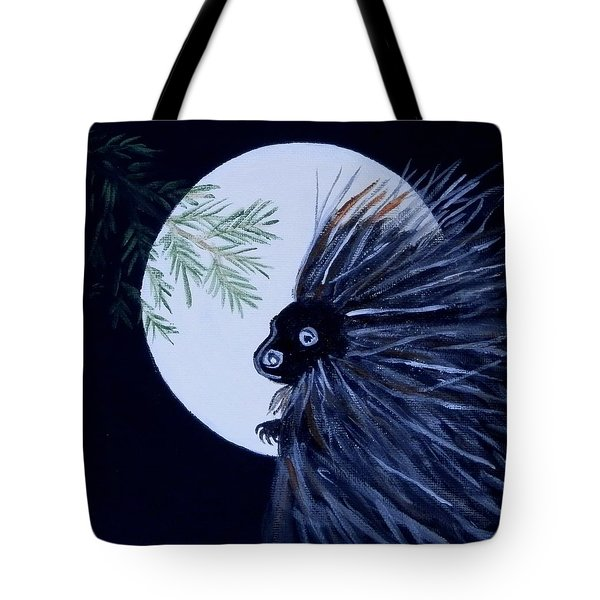 A Knight In The Woods Tote Bag
