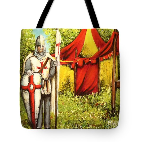 A Knights' Rest Tote Bag