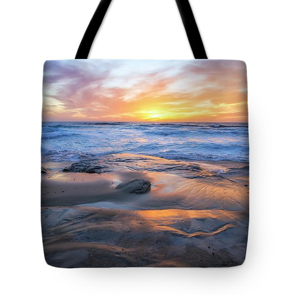 A La Jolla Sunset #1 Tote Bag