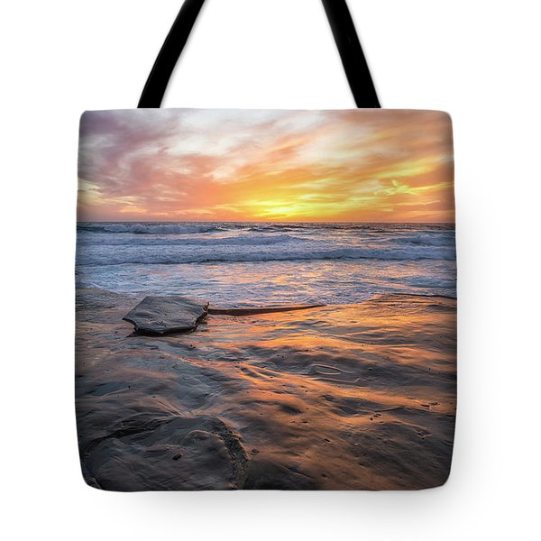 A La Jolla Sunset #2 Tote Bag