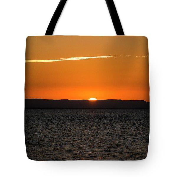 A La Paz Sunset Tote Bag