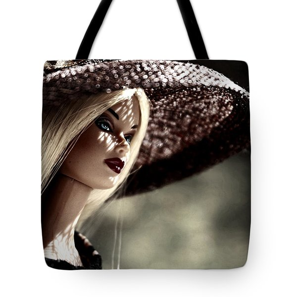A Lady At The Derby Tote Bag