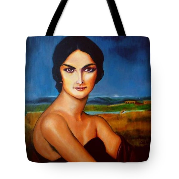 A Lady Tote Bag