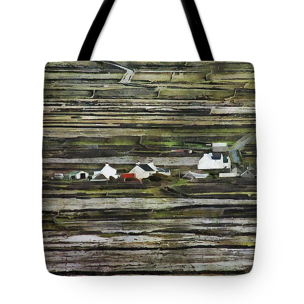 A Landscape With A Farm Tote Bag