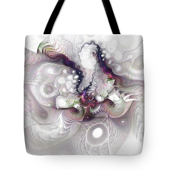 A Leap Of Faith - Fractal Art Tote Bag