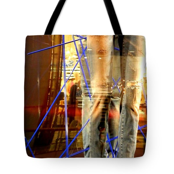 A Levi Story Tote Bag