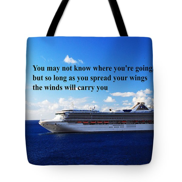 A Life Journey Tote Bag by Gary Wonning