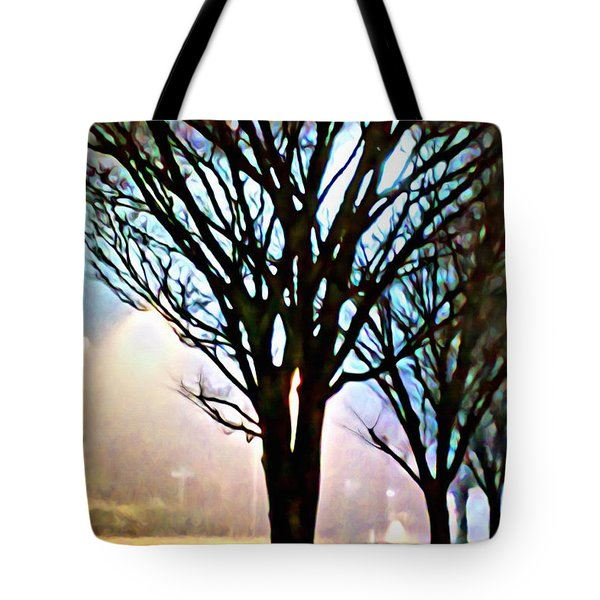 A Light Dusting Of Solitude Tote Bag