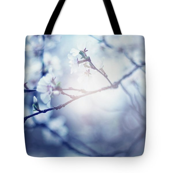 A Light Exists In Spring Tote Bag