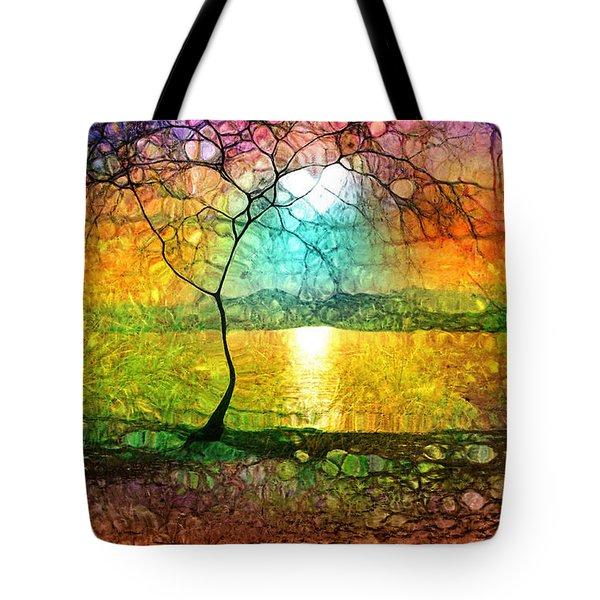A Light Like Love Tote Bag