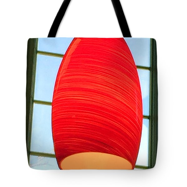 A Light On In Trhe Window Tote Bag