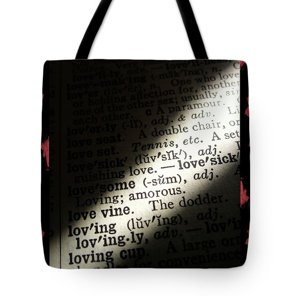 A Light On Love Tote Bag