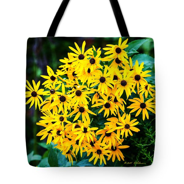 Tote Bag featuring the photograph A Like Grouping by Edward Peterson