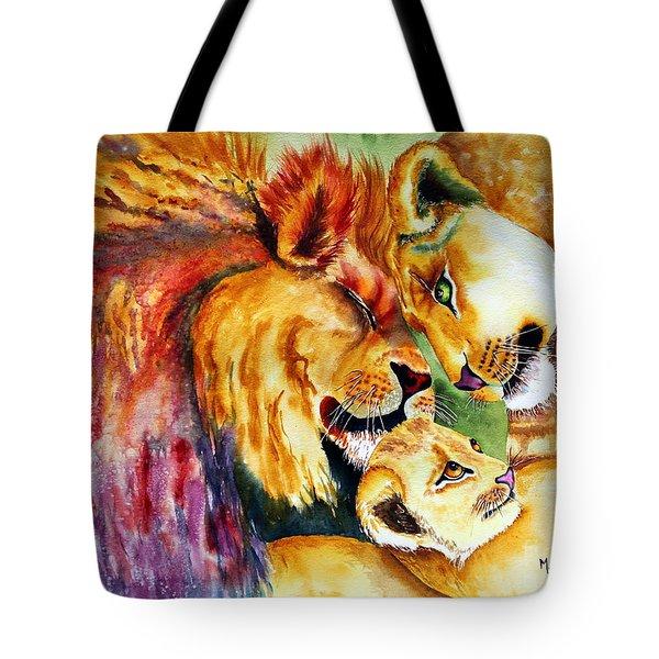A Lion's Pride Tote Bag