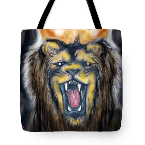 A Lion's Royalty Tote Bag