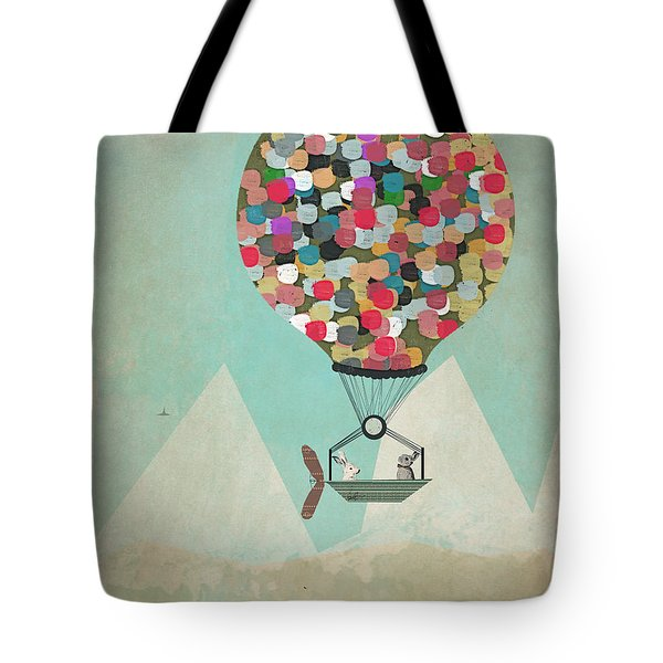 A Little Adventure Tote Bag