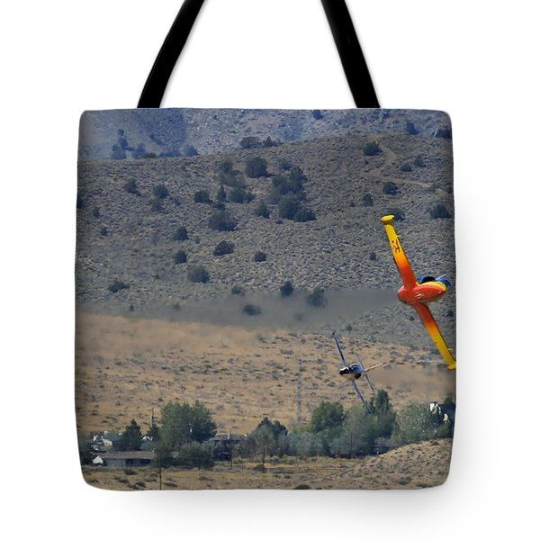 Tote Bag featuring the photograph A Little Afternoon Fun by John King